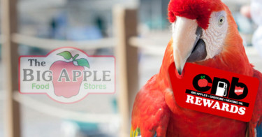 Rewards program campaign for Big Apple Food Stores