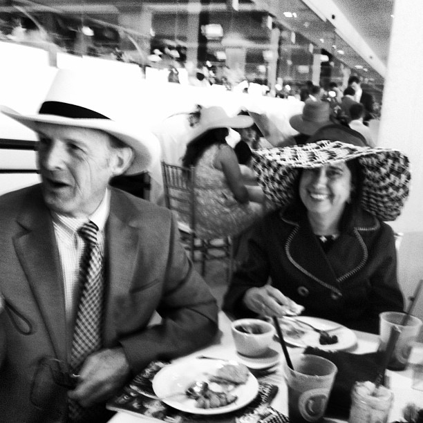 Midge and Stew Vreeland At The Kentucky Derby