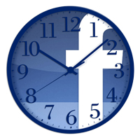 facebook post time